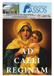 Revista Nossos Passos edição Setembro