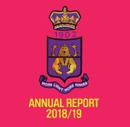 Shoreditch Town Hall - 2018 - 2019 Annual Report