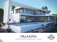 VILLA ILITIA - Javea Costa Blanca