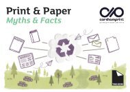 Print & Paper Myths & Facts