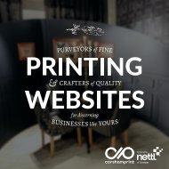 Purveyors of Fine Printing & Websites