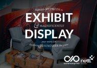 Ingenious Methods to Exhibit & Display