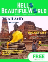 Hello Beautiful World - Issue 26 Thailand