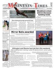 The Mountain Times - Volume 48, Number 42: Oct. 16-22, 2019