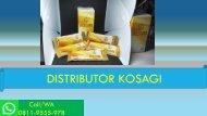 AMAN!!! CALL/WA 0811-9555-978 Suplemen Stamina Pria Herbal KOSAGI Karawang