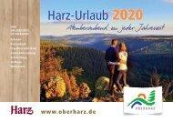 Urlaubsmagazin Oberharz 2020