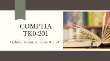 CompTIA TK0-201 Braindumps