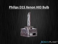 Philips xenarc d1s bulb by Xenons4u