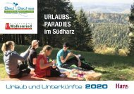 Urlaubsmagain Bad Sachsa & Walkenried 2020