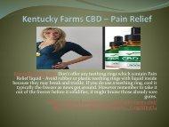Kentucky Farms CBD - You Can Get All The Health Benefits