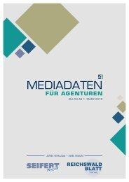 Mediadaten Agenturen