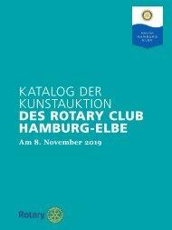 Rotary Club Hamburg-Elbe / Kunstkatalog 2019