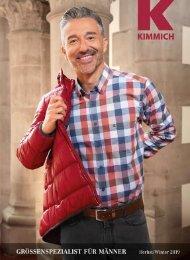 Kimmich Mode-Versand | Größenspezialist für Männermode | Herbst Winter 2019