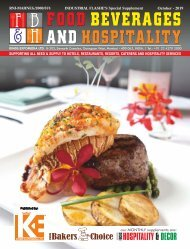 Food Beverages And Hospitality October 2019