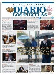 Edición de Diario Los Tuxtlas del día 16 de octubre de 2019