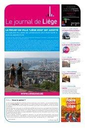 Votre Journal de Liège du mois d'octobre 2019
