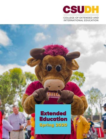 Spring 2020 CSUDH Extended Education Catalog (Interactive)