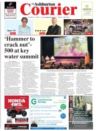 Ashburton Courier: October 17, 2019