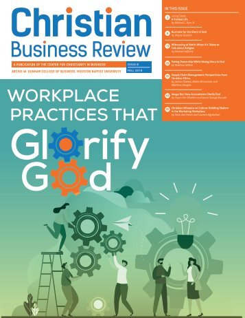 Christian Business Review 2019: Workplace Practices That Glorify God (Issue 8)