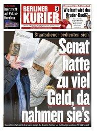 Berliner Kurier 16.10.2019