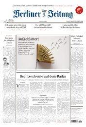 Berliner Zeitung 16.10.2019