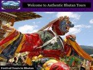Customized Bhutan Festival Tour