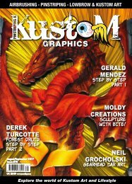 Pinstriping and Kustom Graphics Magazine Issue 75 FREE