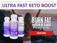 Ultra Fast Keto Boost Reviews: Weight Loss Pill Where To Buy?