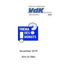 TdM November 19 Arm im Alter