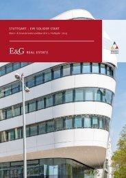 E & G Büro- Investmentmarktbericht Stuttgart 1. HJ 2019