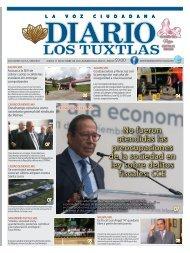 Edición de Diario los Tuxtlas del día 17 de octubre de 2019