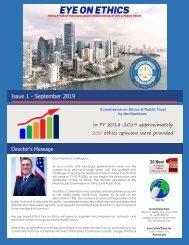 Newsletter Issue 1 September 2019 FINAL