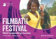 FilmBath Festival 2019 Brochure