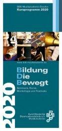 BDB-Kursprogramm 2020