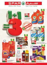 SPAR flyer from 16 to 22 Oct