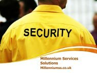 Professional Security and Cleaning Services in Manchester