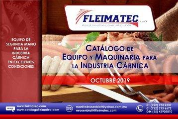 Catálogo de Maquinaria Cárnica Fleimatec - Octubre 2019