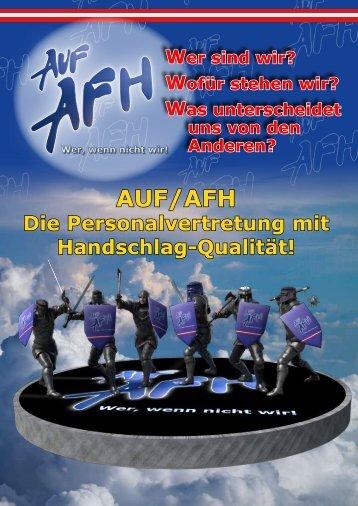 Die Fraktion der AUF-AFH Personalvertreter im BMLV
