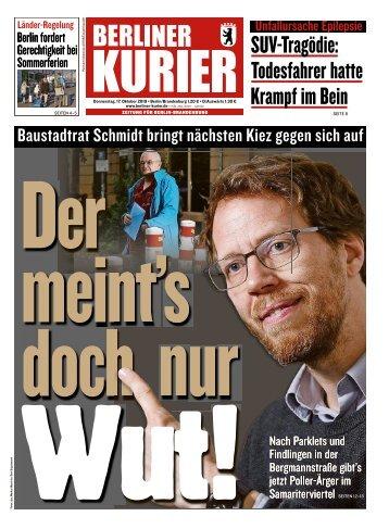 Berliner Kurier 17.10.2019