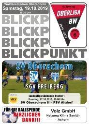 Blickpunkt #06 SGV Freiberg Fußball