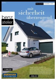 BENZ Journal - BENZ atelier - Ausgabe 03-2018