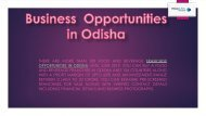 Best Franchise Opportunities in Odisha