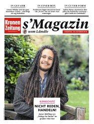 s'Magazin usm Ländle, 20. Oktober 2019