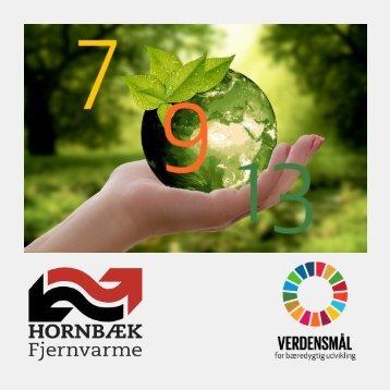 Hornbæk Fjernvarme og FNs verdensmål