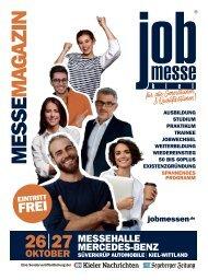 Der Messe-Magazin zur 12. jobmesse kiel 2019