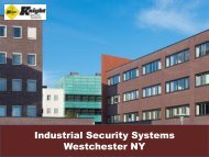 Industrial Security Systems Westchester NY