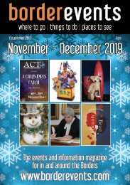 BE103 borderevents November-December 2019 Magazine online