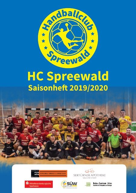 HC Spreewald Saisonheft 2019/2020