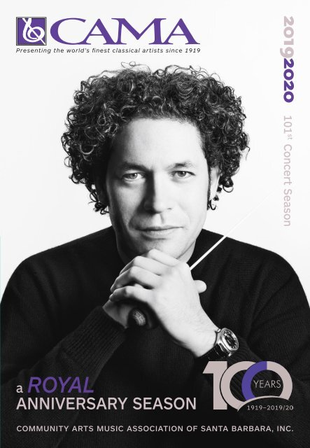 October 29, 2019—CAMA's Masterseries—Stephen Hough, piano—Lobero Theatre, Santa Barbara, California