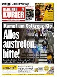 Berliner Kurier 18.10.2019